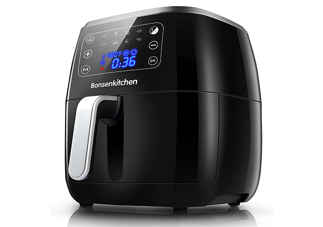 6QT Large Air Fryer, with Digital Touch Screen