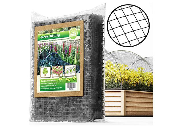 Extra Strong Garden Netting Protection against Birds, Deer and Other Pests