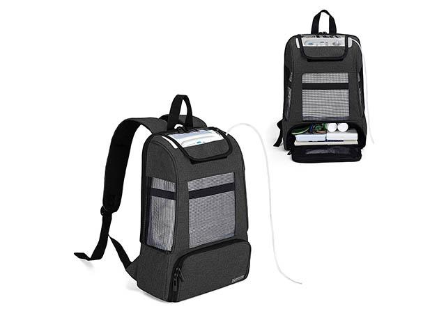 CURMIO Travel Carrying Backpack for Portable Oxygen Concentrators