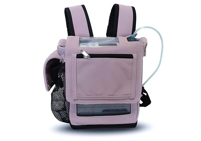 Small Inogen one G5 backpack for oxygen concentrator
