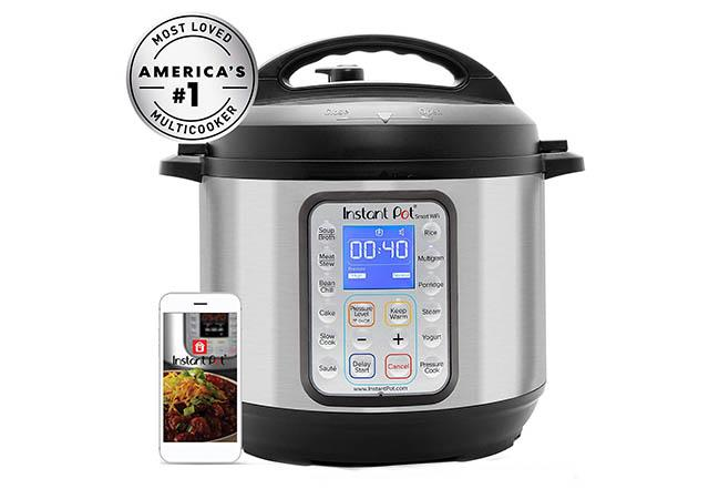 Instant Pot Smart Multi-use Electric Pressure and Yogurt Maker with WiFi