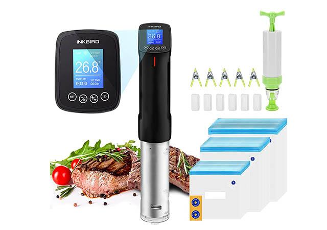 Inkbird WIFI Sous Vide Precision Cooker with Starter Kit