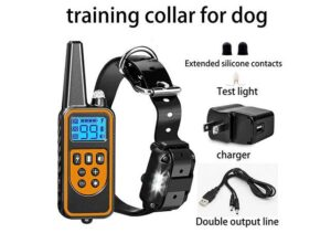 Best Dog Training Collar for small dog with Remote3