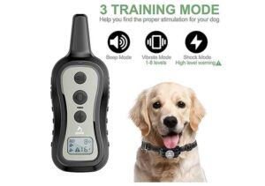 PATPET Dog Training Collar with Up to 1000 ft Remote Range1
