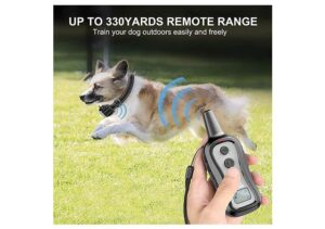 PATPET Dog Training Collar with Up to 1000 ft Remote Range