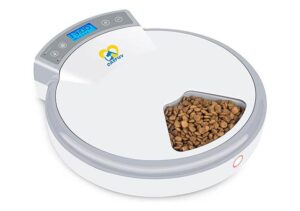 Casfuy best automatic dog feeder for wet food