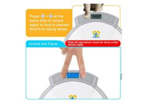 Casfuy best automatic pet feeder for wet food