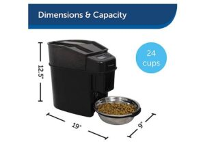 PetSafe Best Automatic Dog Feeder For Large Dogs with Slow Feed Setting and Portion Control