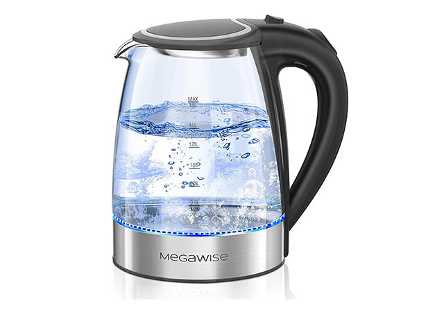 Best Stainless Steel Cordless Electric Kettle with Auto Shut Off