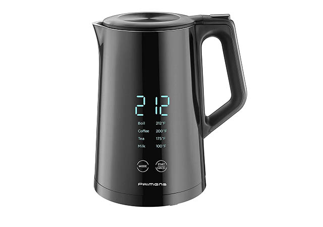 Smart Electric Water Kettle with Variable Temperature Control Insulated with LED Display